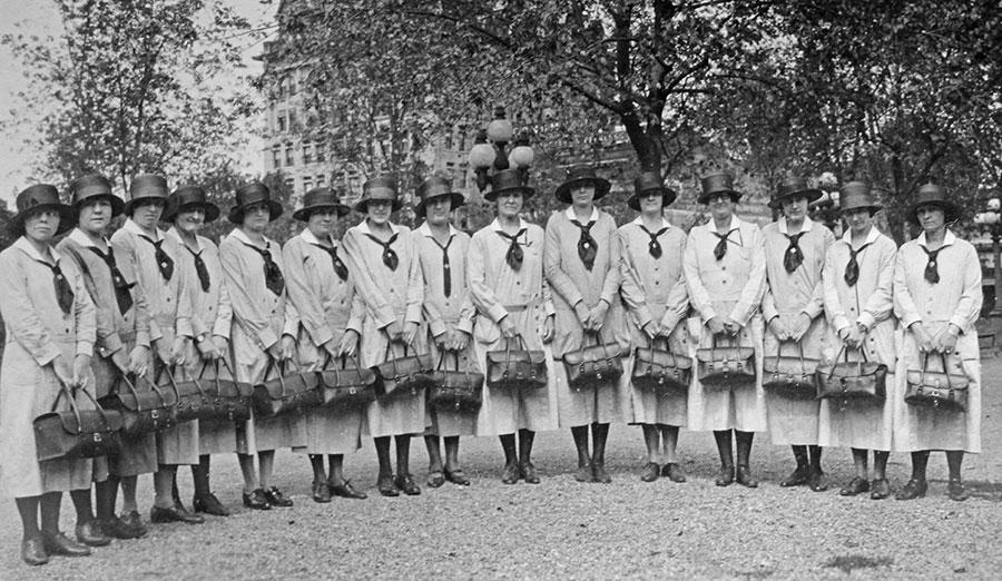 Nurses on Square