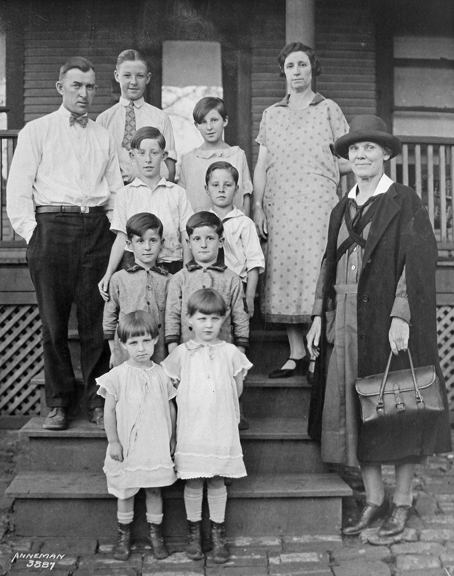 Nurse and Family